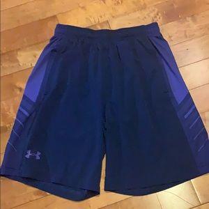 UnderArmour Medium athletic shorts